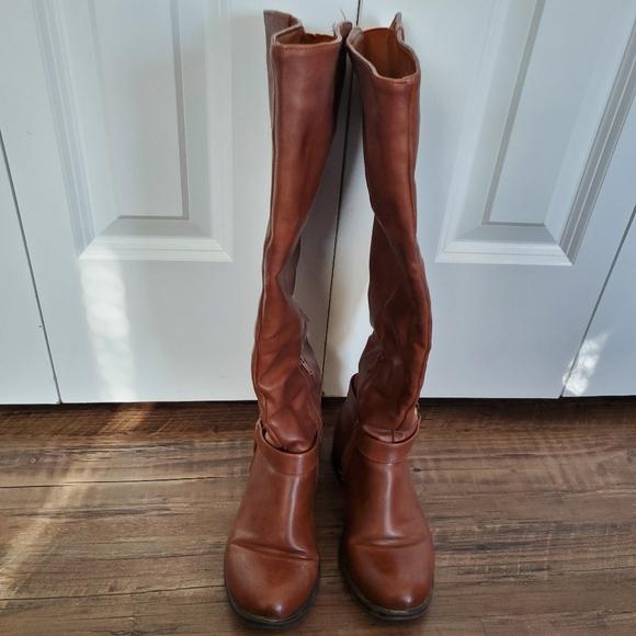 Kohls Size 75 Wide Calf Knee High Boots
